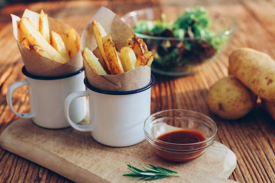 """Не вся картошка одинакова полезна при похудении. Например """"фри"""" не лучший выбор при диете"""