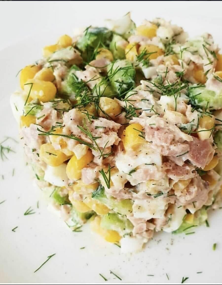 Рецепты пп салатов с фото простые
