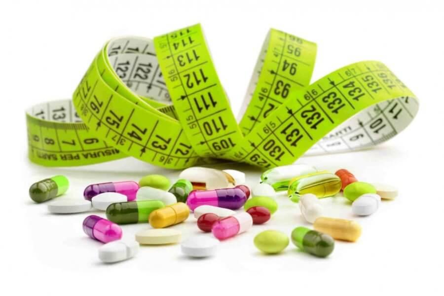 Различные таблетки и порошки для похудения - главная ошибка худеющих
