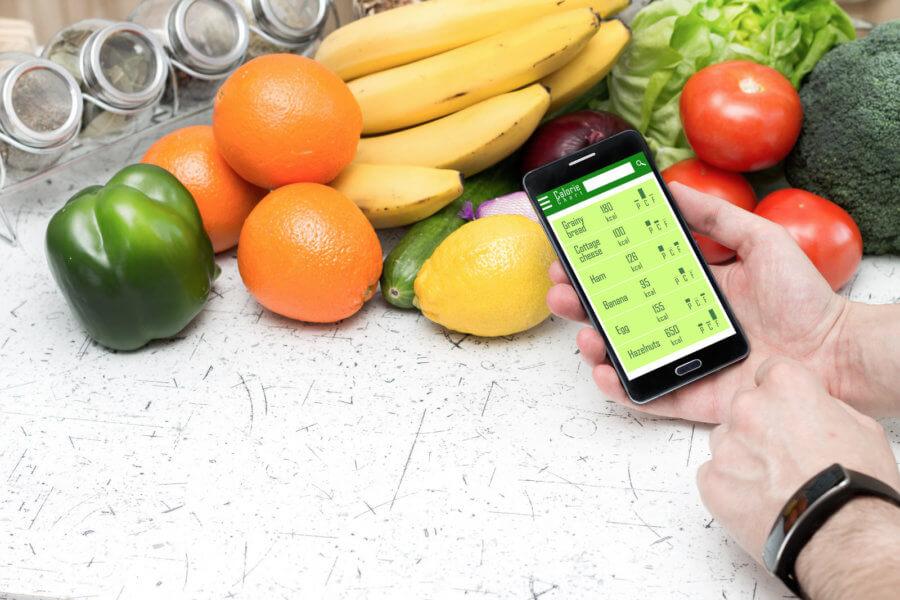 Приложения для телефона помогут считать калории