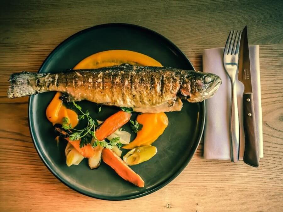 Овощи являются хорошим гарниром для рыбы!
