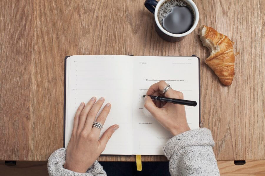 Записывайте все, что съедаете в течение дня!