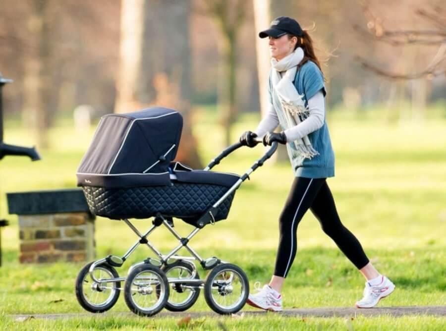 Будьте активны во время прогулок с коляской