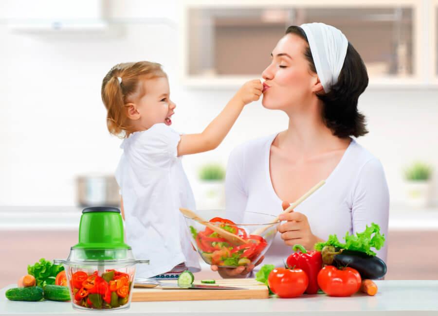 Питание после родов должно быть сбалансированным!